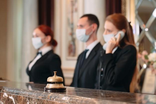 Atendimento na hotelaria