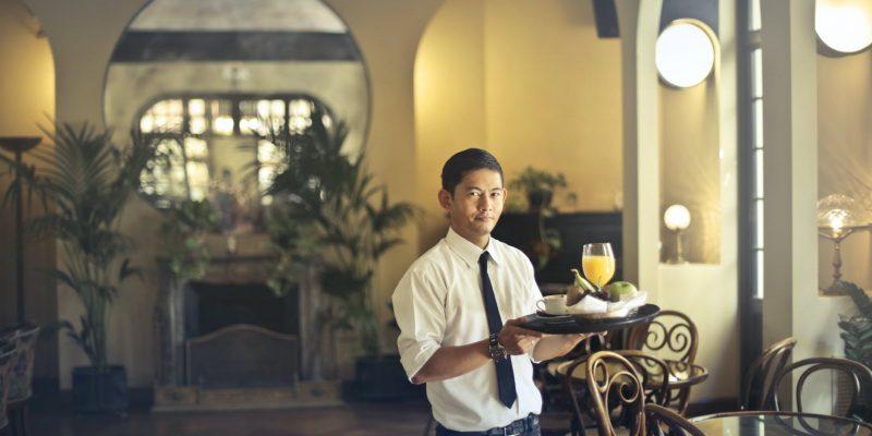 trabalho temporário na hotelaria